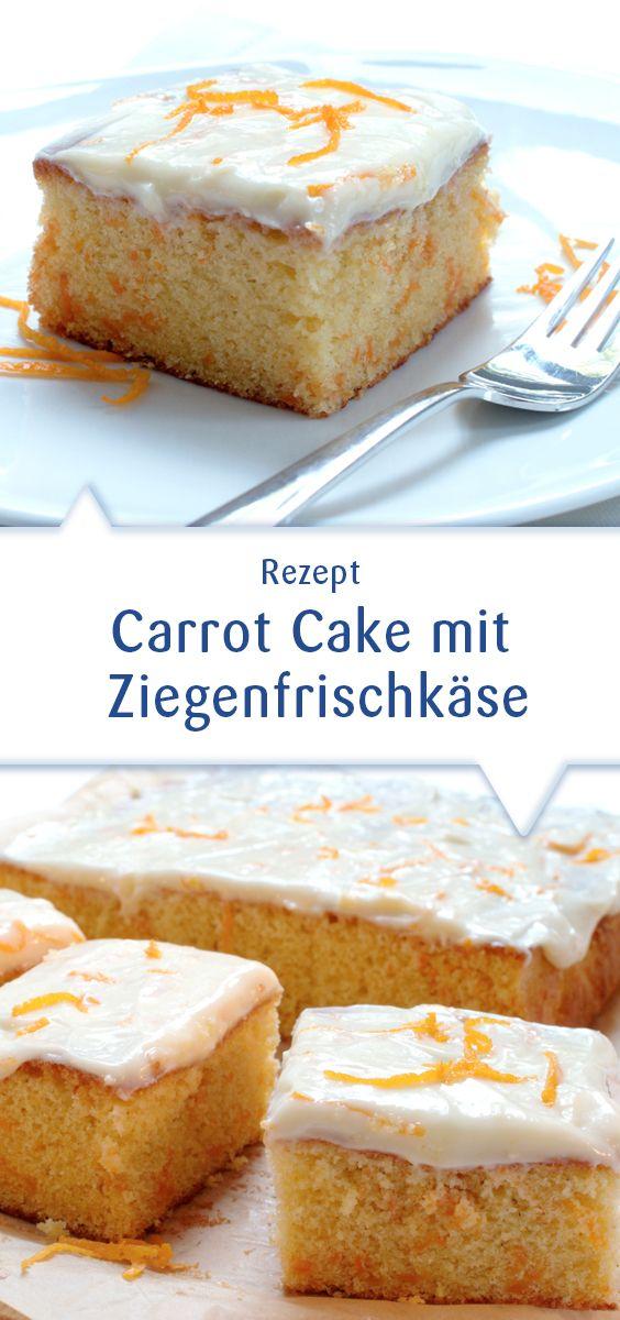 Nicht nur irgendein Blechkuchen: Ein locker-saftiger Carrot Cake der durch das gehaltvolle, sahnig-frische Snøfrisk Ziegenfrischkäse-Topping einfach unwiderstehlich wird. Dieses Rezept und mehr unter http://www.snofrisk.de/rezepte.php