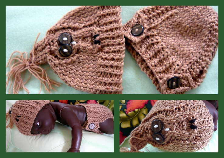 KNITTING NEWBORN ..BROWN OWL