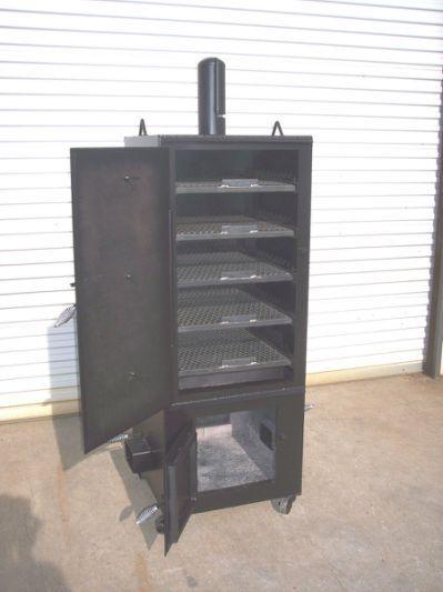 NEW Custom Vertical Patio BBQ pit