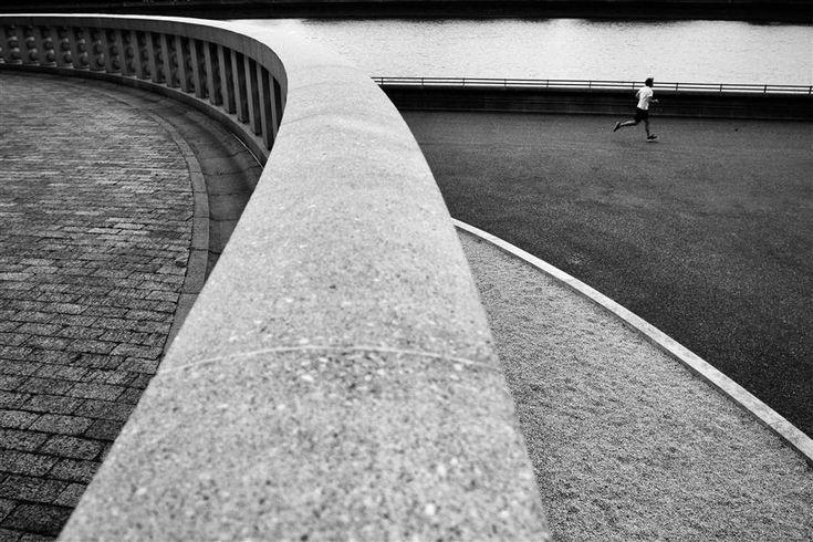 Runner in Battersea Park, London. | Runner by Dmitry Stepanenko | $125 | photography | 30' h x 20' w