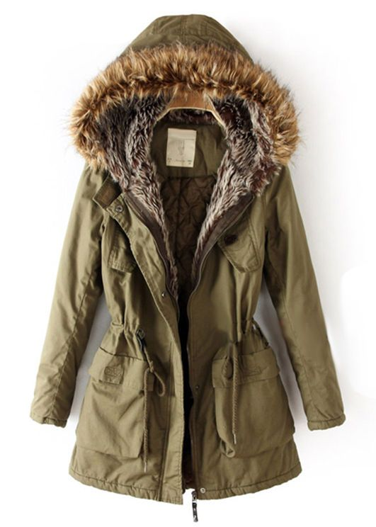 FUR HOODED PARKA - Rings Tings | Online fashion store | Shop the latest trends