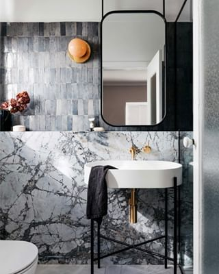 Bathroom Trends: Are Stacked Tiles the New Subway Tile?