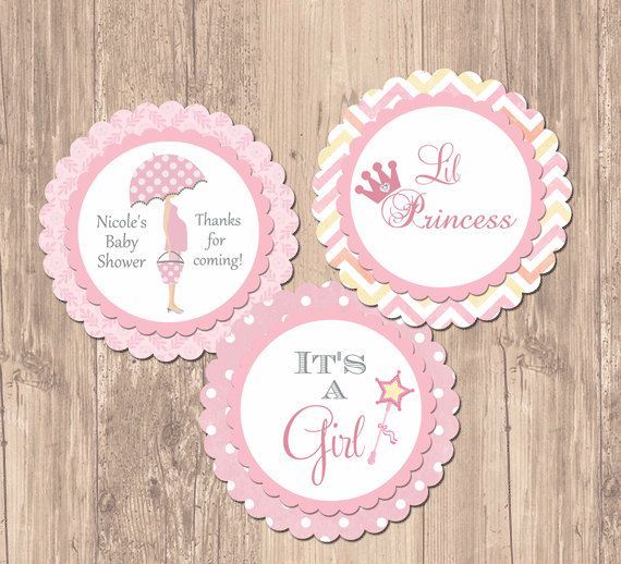 Free Printable Girl Baby Shower Cupcake Toppers - baby shower cupcake ...