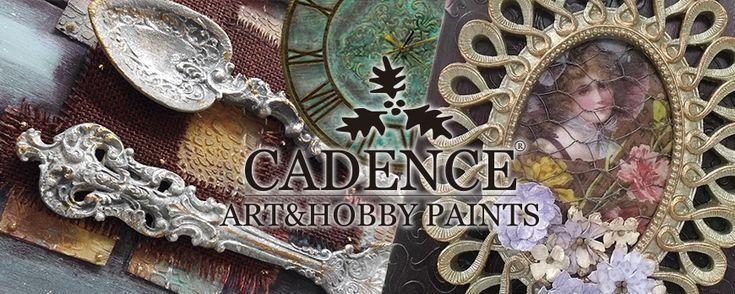 Trabajos decorados con pinturas y productos #CADENCE distribuidos en España por Artesanías Montejo.