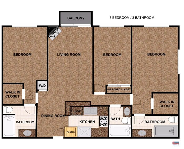 128 best apartment floor plans images on Pinterest   Architecture  Apartment  floor plans and Models128 best apartment floor plans images on Pinterest   Architecture  . Luxury Two Bedroom Apartment Floor Plans. Home Design Ideas