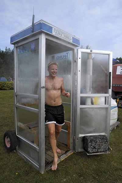 Mobile Sauna Festival in Teuva, Finland