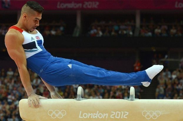 Louis Smith, gymnast representing Great Britain at London 2012