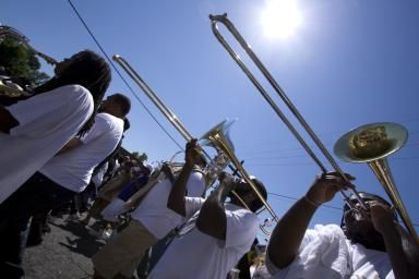 New orleans, second lines, where to find