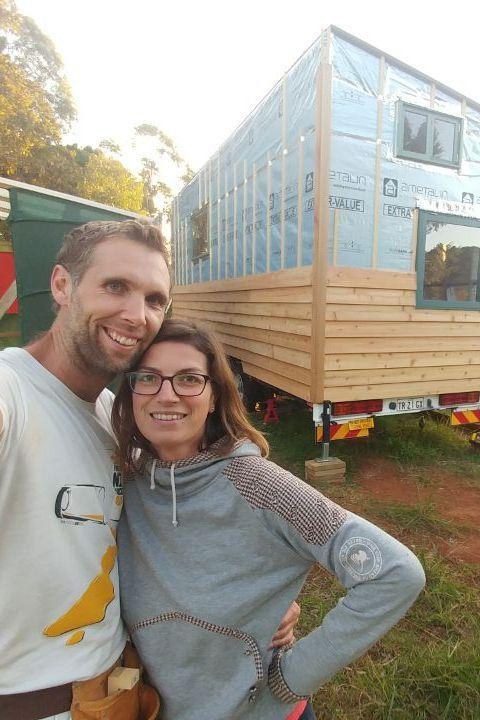 Tiny House | Cedar Siding | DIY | Living Tiny And Green |