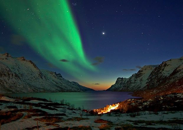 Northern Lights over Norway