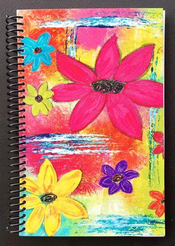 #journals #notebooks #linedjournals #boldflowers #flowerjournals #kathleentennant #notebooksforretail #journalsforretail