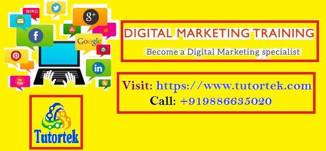 #Tutortek provides best #Digital #Marketing #Training in #Bangalore by the expert trainers  Visit https://www.tutortek.com   Call 9886635020