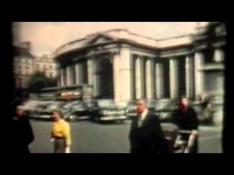 Central Dublin Footage - The late 50's in Colour