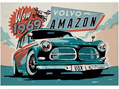 Guy Martin Volvo Amazon                                                                                                                                                                                 Plus