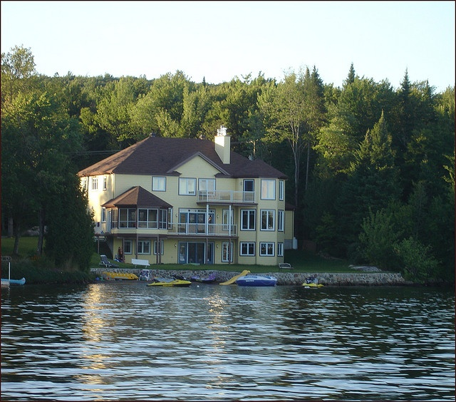 Lake Luxury Log Homes: :: ☆ Beautiful Lake Houses