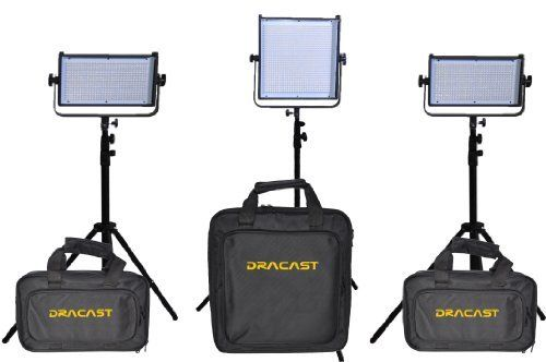 Dracast DR-2xLED500DS-1xLED1000DS-KIT 2 LED 500 and 1 LED Daylight 5600K Spot 1000 Lighting Kit , Black by DRACO. $1696.50. The Dracast LED 500 and 1000 Lights are the most ideal versatile battery-powered lighting fixtures for indoor and outdoor shooting. LED is becoming the most favorable light choice among photographers and video professionals. Dracast designs, engineers, and manufactures its LED lights to the highest industry standards. Both LED lights are crafted with ...