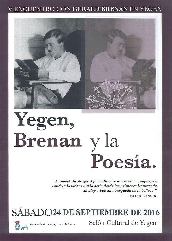Yegen (V Encuentro con Gerald Brenan en Yegen) | Publicaciones I Love Alpujarra