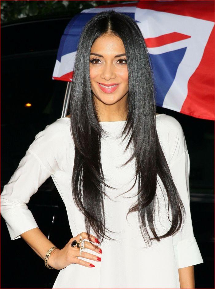 17++ Coiffure femme noire cheveux long des idees