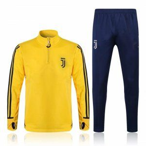 Juventus 2017-18 Yellow Training Kit  L667  Cheap Football Shirts b4abecd16