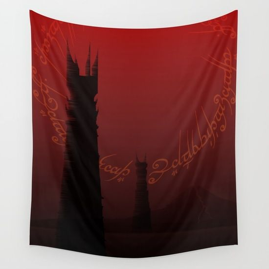 Dark Tower Fanatsy Lord of the Rings Movie Wall Tapestry. Discount from $39----> $33,15  #lotr #lordoftheringswalltapestry #homedecor #wallart #homegifts #lordoftheringsgifts #giftsforhim #giftsforher #gifts