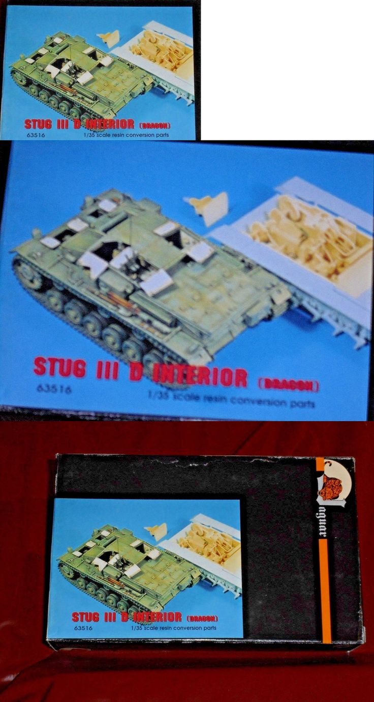 Pre-1970 734: Very Rare Jaguar Models - Stug Iii D Interior Conversion 1 35 For Dragon Kits -> BUY IT NOW ONLY: $58.95 on eBay!