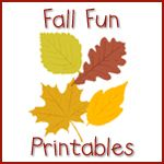 Fall fun -homeschool creations