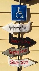 Over The Hill Sign, In The Hoop - 5 Sizes!   What's New   Machine Embroidery Designs   SWAKembroidery.com Nobbie Neez Kids