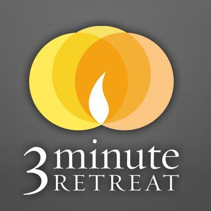 3-Minute Retreat from Loyola Press