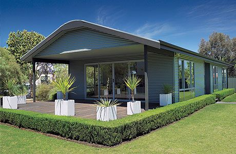 Corrugated steel home design - Home design