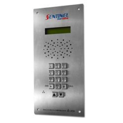 The Sentinel Doorstaion is the most vandal resistant, time tested, reliable, and safest intercom system on the market. In the field 20 plus years and still going strong