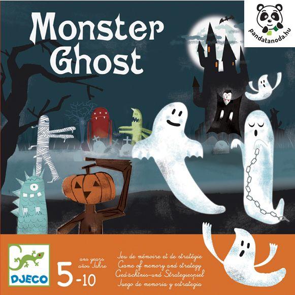 Monster Ghost logikai társasjáték szellemekkel (Djeco) | Pandatanoda.hu Játék webáruház