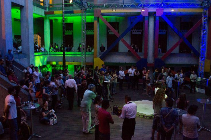 Lanzamiento del Encuentro Internacional de Arte de Medellín.