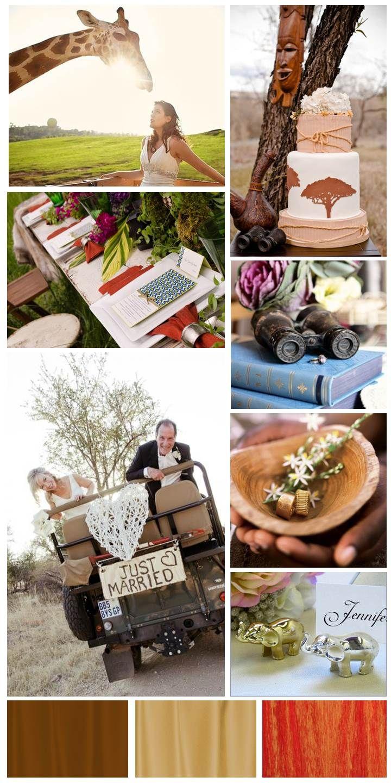 Design Dish :: Safari Wedding inspiration board by The Simplifiers: Event Planning - Austin, TX