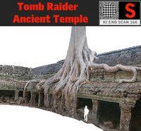 3d ancient tree temple 16 model