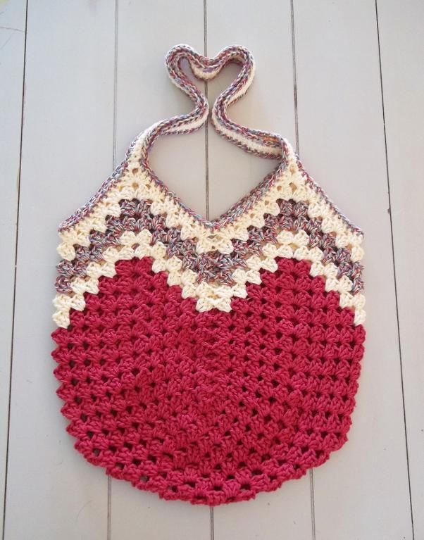 Granny Ripple Bag by Carlinda | Crocheting Pattern - Looking for your next project? You're going to love Granny Ripple Bag by designer Carlinda. - via @Craftsy