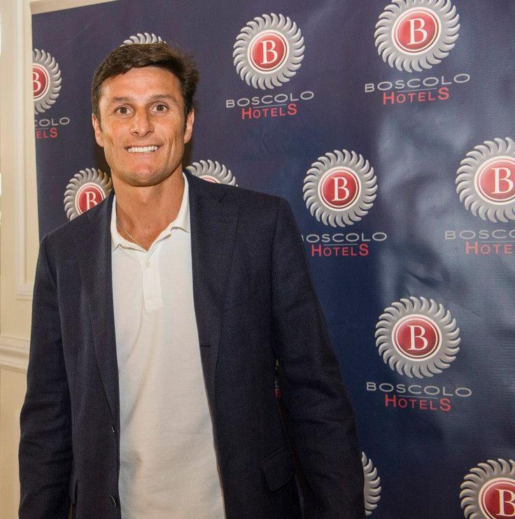 Javier Zanetti @BoscoloExedraRoma  #celebrities #BoscoloHotels #matchforpeace #BoscoloExedraRoma
