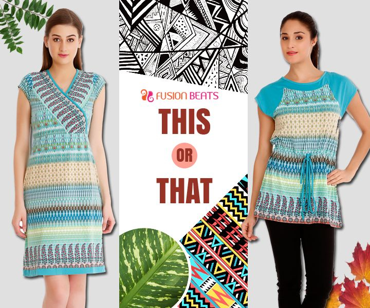 You fancy a one piece or a tunic? Comment below and tell us which one are you. #FreeSpirit #SS15 #TribalMix