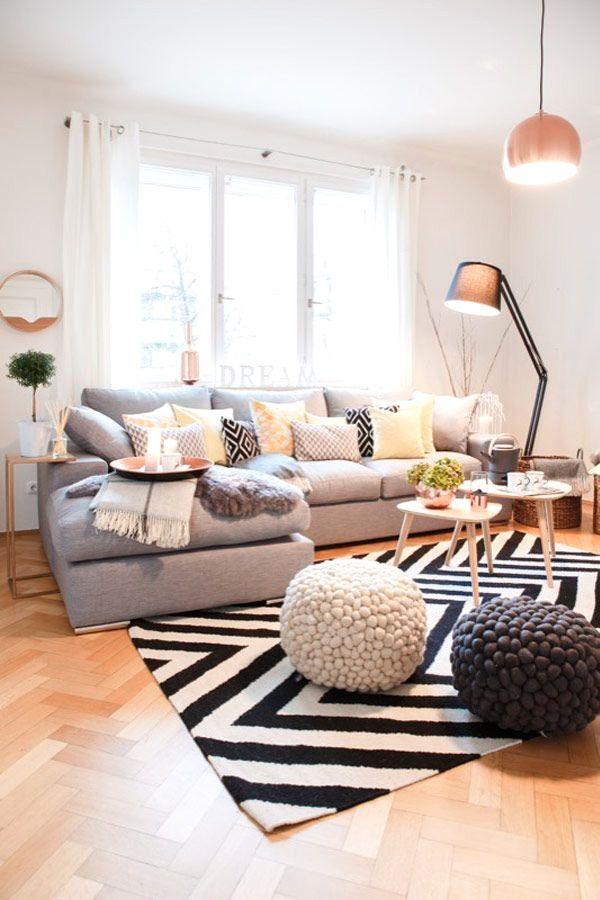 Pinterest Wohnzimmer Skandinavisch   Wohnzimmer Ideen