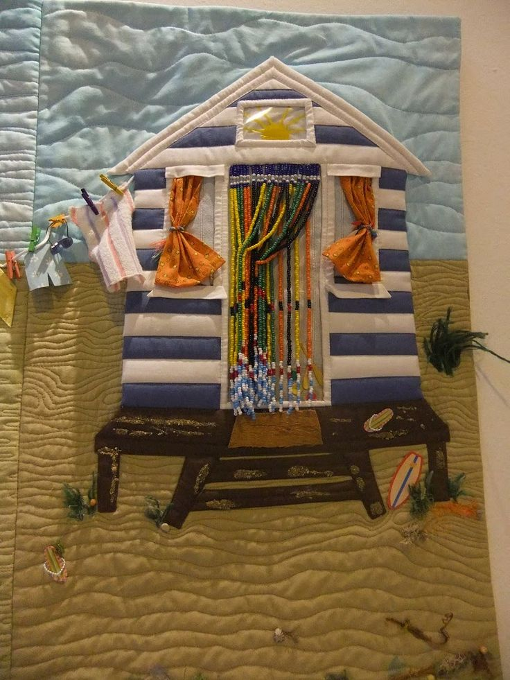 56 best Quilts with beach huts and seascapes images on Pinterest ... : quilt show nec - Adamdwight.com