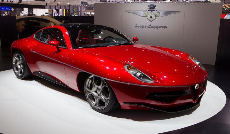 Alfa Romeo Disco Volante - Un V8 da 4,7 litri con 450CV.