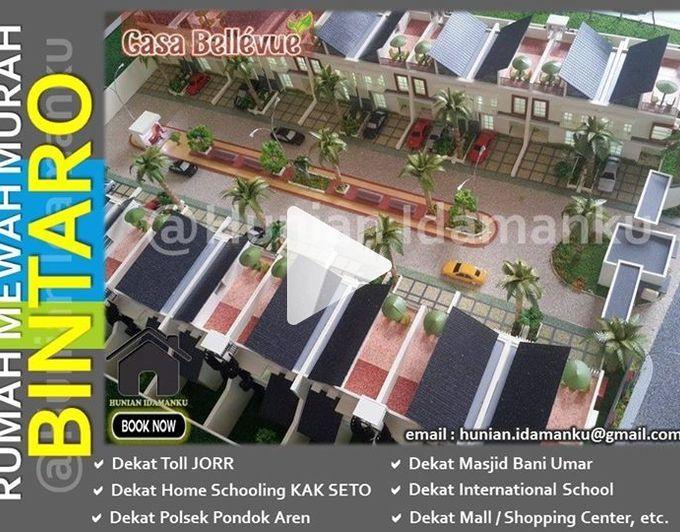 Rumah Cluster Exclusive Murah Casa Bellevue Residence Bintaro | Nyaman Strategis | Dekat Tol & Pusat Bisnis | http://slide.ly/v/33cFf