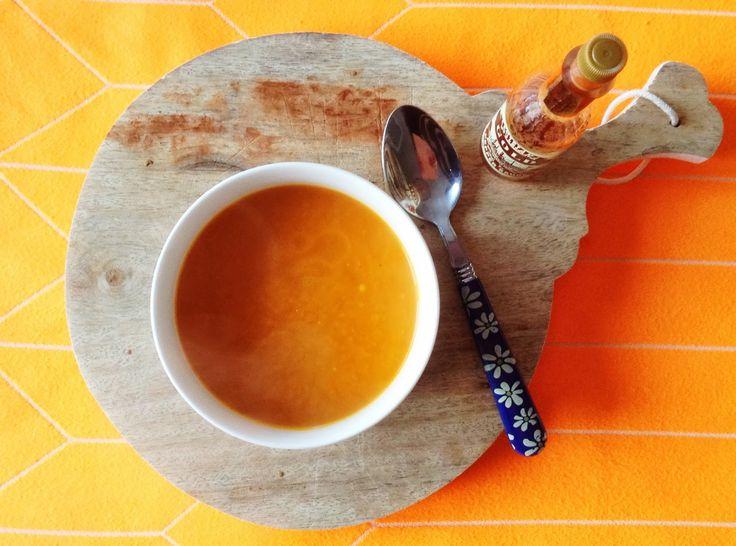 Pompoensoep | Wimke | DIY (do it yourself) | eenvoudige recepten | uittips
