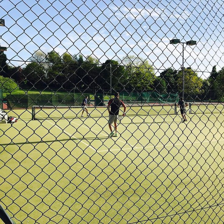 Rage in The Cage!  Great #tennis match today against #radyr great lads. Now need #wine and a #massage