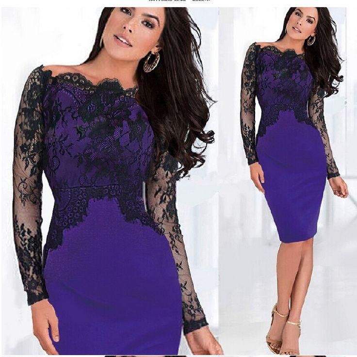 Платье облегающее кружево свободного покроя, осень зима женщины вязка крючком платье Клубная одежда вечернее платья женщины осень сексуальный платье 3 цвета размер S-XXL