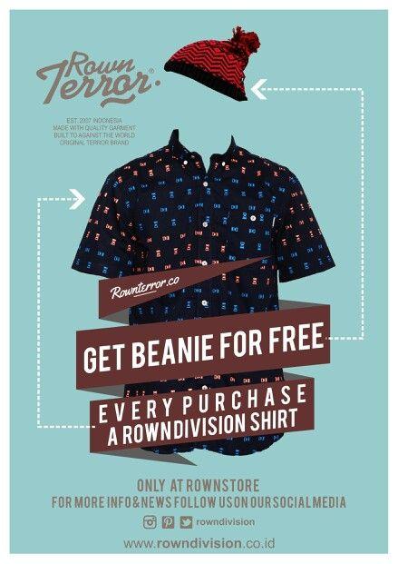 shirt get beanie promo