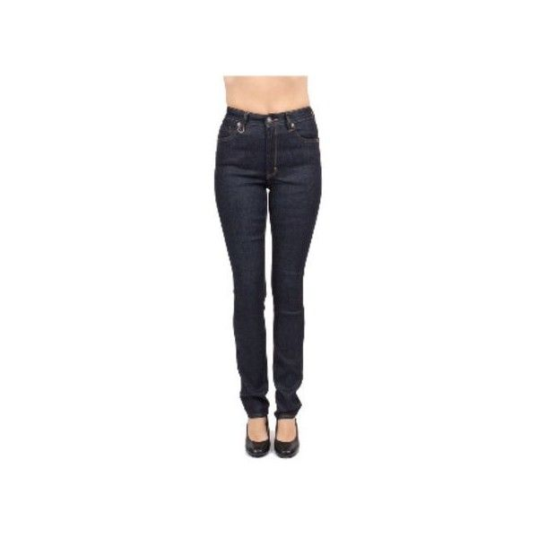NEUW Opus Blue Vintage Skinny Jeans ($165) ❤ liked on Polyvore featuring jeans, vintage skinny jeans, highwaisted skinny jeans, high rise jeans, denim skinny jeans and highwaisted jeans