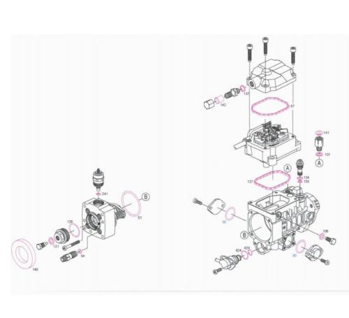 Details about BOSCH Diesel Fuel Pump Repair Kit TD TDI TDS