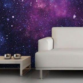 Murales de pared con la nebulosa más hipster