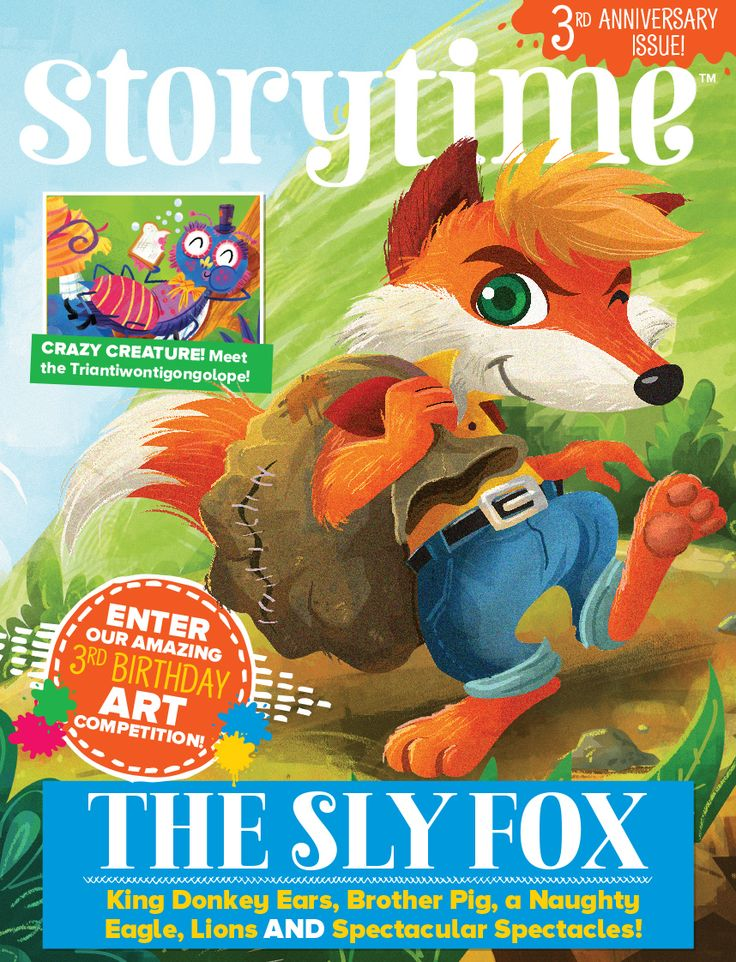 In Storytime 37, we're celebrating 3 years of wonderful stories, poems and children's illustration! Join our exclusive club here: http://www.storytimemagazine.com