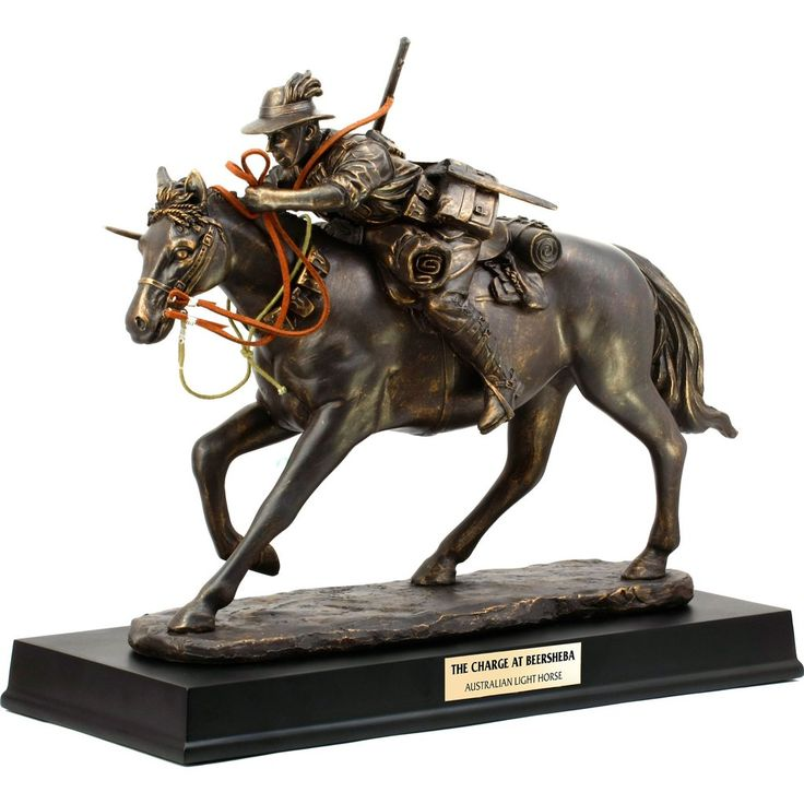 The Charge at Beersheba Light Horse Figurine